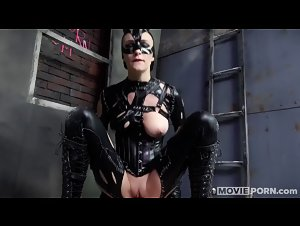 Movieporn.com - Catwhore with Belle Claire (Catwoman)