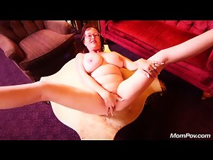 MomPOV.com - Barbara (Huge natural tits curvy MILF)