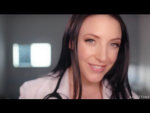 AdultTime - ASMRFantasy - Angela White (Dr. Angela White Gives Full Body Physical Exam)
