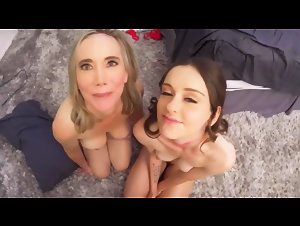 PervNana - Lilly James and Lily Glee (Not Without Grandma)