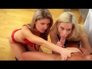 NubileFilms - Gina Gerson and Nesty (Room Service)